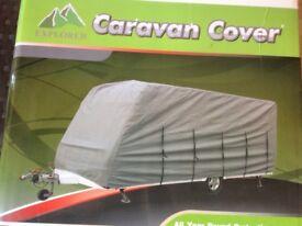 Caravan cover plus storage bag