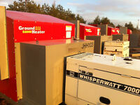 Ground Heaters - Thawing, Curing, Frost protection