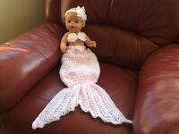 Mermaid Tail for Doll / New Born
