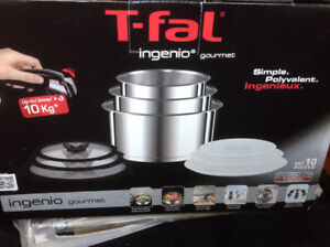 T-fal Ingenio Gourmet Set- New , never used