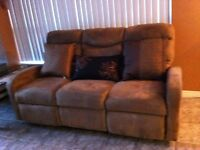 BEST  OFFER --LOVE SEAT/COUCH