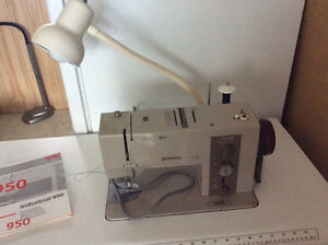 Bernini Industrial 950 sewing machine/table