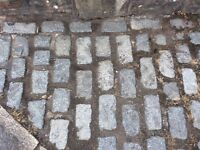 GRANITE SETS COBBLES, 1300 total plus more if required later.