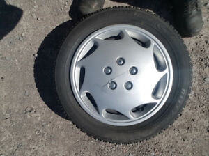 Selling Winter Tires (185/65/R15)