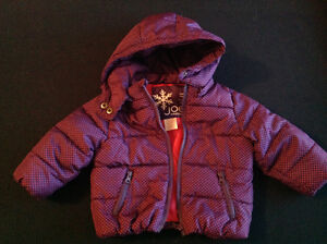 Winter jacket size 6-12mth