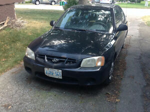 2002 Hyundai Accent GS Coupe (2 door)