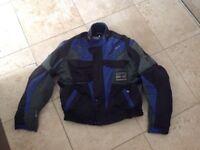Textile Motorbike Suit - Revit Jacket XXL - unbranded NEW Trousers 40 waist