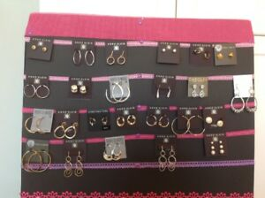 Designer Jewellery Sale - Silver and Gold Earrings. Brand New!