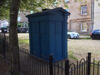 POLICE BOX EDINBURGH - TO RENT
