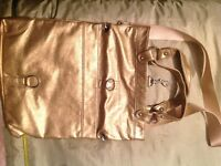 Shoulder Bag - Gold Metallic Bag