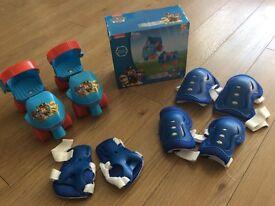 Paw Patrol Roller skates children's size uk 5-11