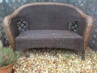 Garden Sofa with an Arm Chair