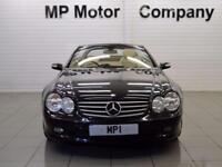 54 MERCEDES-BENZ 350 SL350 3.7L 2D AUTO 6SP CONVERTIBLE, 245BHP, 59,000M, BLACK