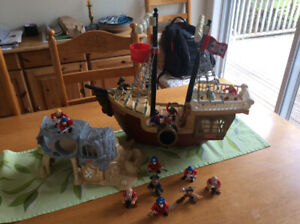 Fisher Price Pirate Boat and Island