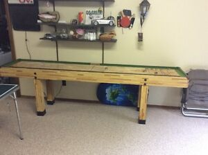 Shuffle Board Unit - Regulation Size