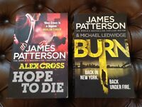 Two James Patterson books