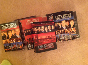 Law and Order Special Victims Seasons 1-6