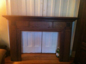 Gorgeous Antique Fireplace Mantel