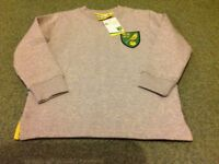 Brand new with tag ncfc Norwich city 5-6 years jumper top