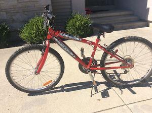 Kid's 18-speed bike, excellent condition