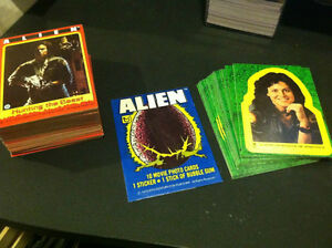 ALIEN 1979 TOPPS CARD & STICKER SET + WRAPPER VINTAGE Oakville / Halton Region Toronto (GTA) image 1