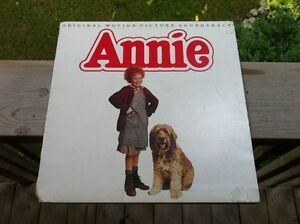 "Annie Movie 12"" Lp Music Warbucks Hard Life Tomorrow Old Record"