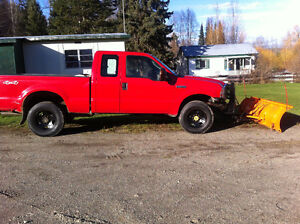 truck and snow plow Prince George British Columbia image 5