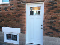 NEW DOOR ADDED TO EXISTING GARAGES OR HOUSES