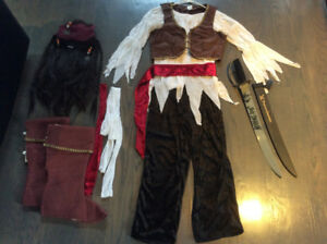 Costume d'Halloween de pirate pour adulte ( femme)
