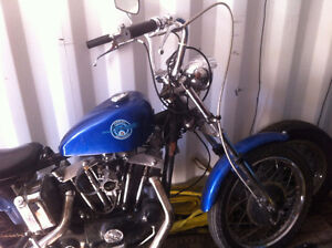 1970 Harley Davidson Sportster Iron Head XLCH