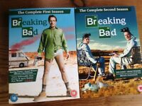 Breaking Bad complete first and second series on DVD