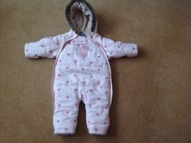 Ted Baker Girls Snow Suit