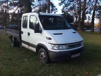 IVECO DAILY 35c12 TIPPER, 2300 TURBO DIESEL 120BHP 5 SPEED.