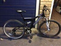 Muddyfox mountain bike £65.00