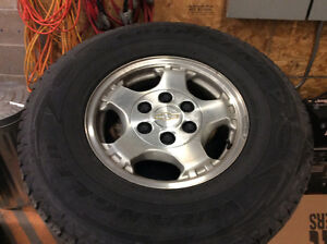 """16"""" Tires and Chevy Wheels"""