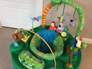 Triple Fun Exersaucer - 3 stages in one