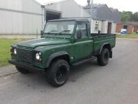 52 Land Rover 110 Defender 2.5 Td5 High Capacity Pick Up. 86000 miles only.