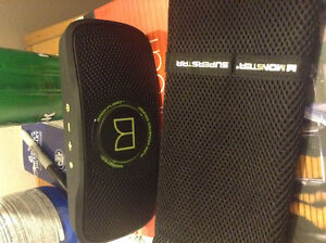 Monster back float Bluetooth speaker water resistant
