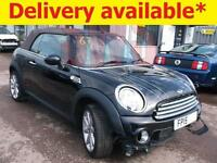 2015 Mini Cooper 1.6 Convertible Highgate DAMAGED REPAIRABLE SALVAGE