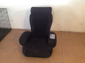Massage chair ijoy black leather
