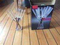 Sublime Glass Champagne set