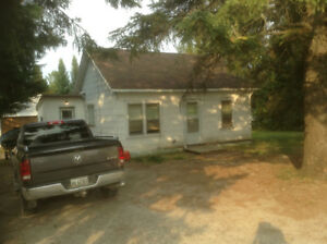 MATHESON 2 bedroom HOME with storage SHED