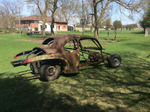 """1940' s  Ford Coupe , full chassis ,cage , narrow 9"""" 4:10,"""