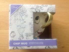 Disney primary Chip Mug brand new