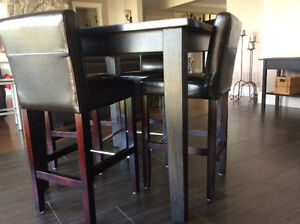 Pub style table and chairs Cambridge Kitchener Area image 4