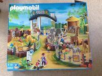 Playmobil large zoo 4850