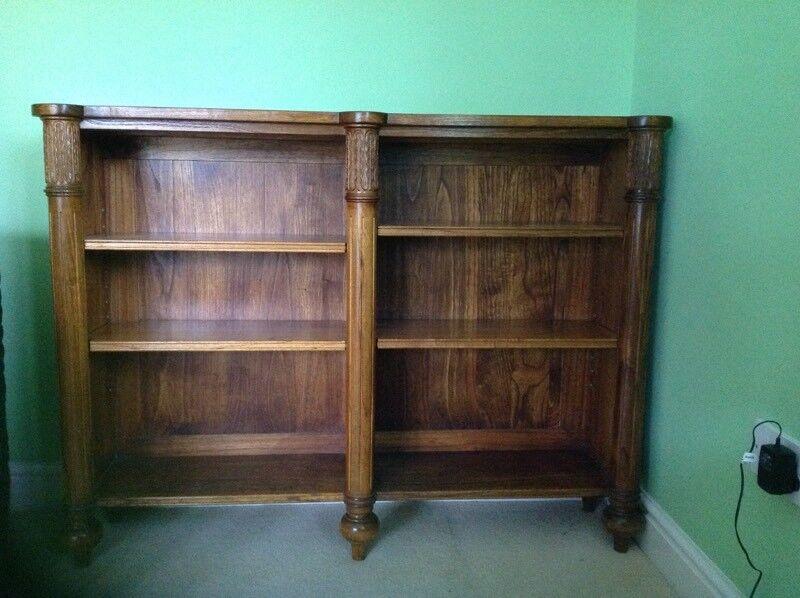 Antique solid wood unit