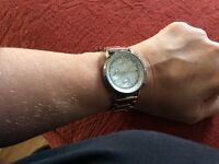 DKNY ladies silver watch.