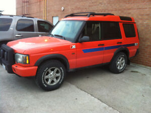 2004 Land Rover Discovery G4 edition SUV, Crossover