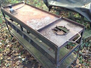 Major Custom Built outdoor grill